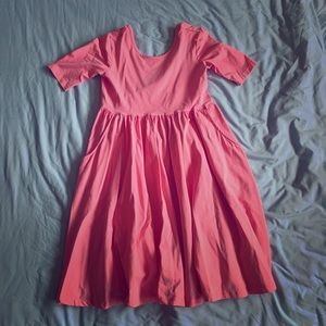 Pink Girls Hanna Anderson dress